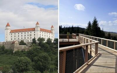 Bratislava chce vybudovať vlastný Chodník korunami stromov