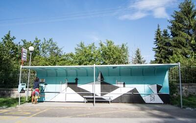 Bratislava má najkrajšie MHD zastávky na Slovensku, stojí za nimi projekt Namaľuj ciTy!