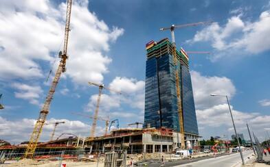 Bratislava má po 17 rokoch novú najvyššiu budovu. Je ňou Nivy Tower