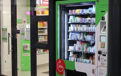 Bratislava má prvý automat na lieky. Zachráni ťa, keď je všetko zatvorené