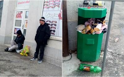 Bratislava má v širšom centre problém s bezdomovcami. Pijú na verejnosti a robia neporiadok, denne okolo nich prejdú tisíce ľudí