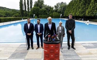 Bratislava otvára kúpaliská. Na týchto miestach už môžeš skočiť do vody