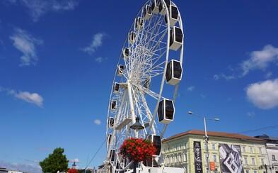 Bratislava zhora: Vyskúšali sme si ruské koleso na brehu Dunaja. Koľko to stojí a aký je z neho výhľad?