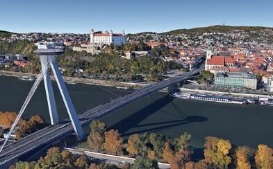 Bratislava získala na Google Earth svoju 3D podobu