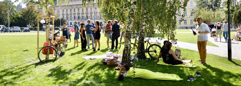 Bratislava získala nový nádherný park! Nájdeš ho pri Šafku