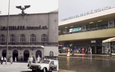 Bratislavská stanica nám kedysi ani zďaleka nerobila hanbu ako dnes. V začiatkoch nevyzerala vôbec zle