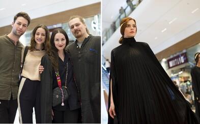 Bratislavské nákupné centrum sa zmenilo na hriešnu krajinu zázrakov plnú módnych prehliadok