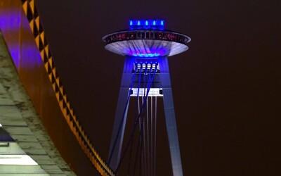 Bratislavské UFO bude meniť farby, Most SNP začal totiž predpovedať počasie