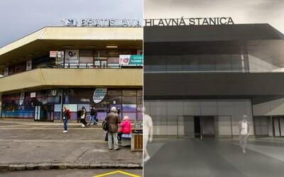 Bratislavskú hlavnú stanicu konečne zrekonštruujú. Čakať na vlak by si mal vo vynovenej budove už budúci rok