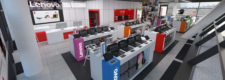 Bratislavský showroom Lenova v Digital Parku prešiel redizajnom aj rekonštrukciou