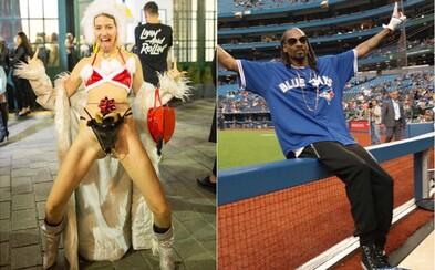 Bratislavu (ne)ovládla móda, Snoop Dogg sa obul do Kanyeho Westa
