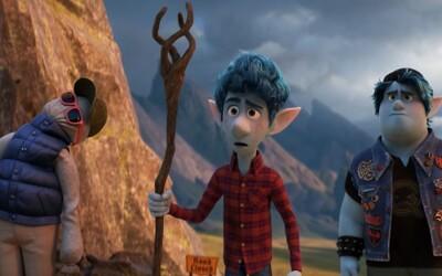 Bratři se díky kouzlu mohou poprvé setkat se svým mrtvým otcem. Pixarovka Onward a její trailer slibují devastující příběh