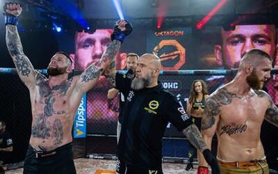 Bratrovražedná válka a ohromné knockouty. Oktagon Underground 6 byl plný nádherných zápasů