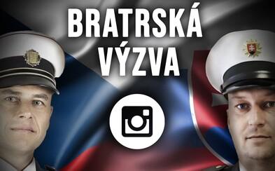 Bratrská výzva. Česká policie chce v počtu sledujících na Instagramu překonat slovenskou