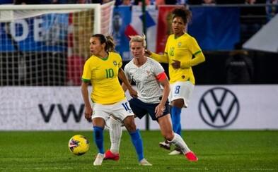 Brazilské fotbalistky budou dostávat stejné platy jako muži. Chceme rovnost pohlaví, říká federace