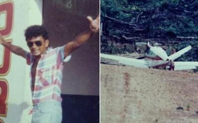 Brazilský pilot, který přežil 11 pádů letadel. Převážel prostitutky a pašoval zlato z Amazonského pralesa, ale své štěstí si nevyčerpal
