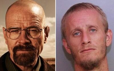 Breaking Bad v realite: Polícia zatkla Waltera Whitea pri tom, ako si dávkoval pervitín