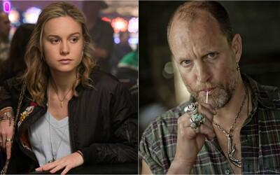 Brie Larson, Woody Harrelson a Naomi Watts v autobiografickém filmu o kočovné rodině putující opuštěnými městy
