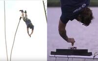 Brit skočil bungee jumping z více než 70 metrů, aby si namočil sušenku do čaje. Stanovil tak nový světový rekord