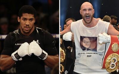 Británii čekají největší zápasy boxerské historie. Anthony Joshua a Tyson Fury se dohodli rovnou i na odvetě