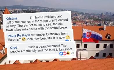 Britská stránka sa rozplýva nad Bratislavou, vraj je to mesto ako z rozprávky. V komentároch sa však objavuje aj kritika