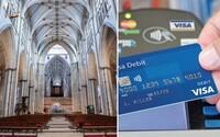 Britské kostely vybavují platebními terminály. Svůj dar církvi můžeš nyní uskutečnit i bezhotovostně