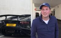 Britského miliardáře okradli o 100 milionů eur, protože si nechal klíče od sejfu v Lamborghini. Tvrdí, že se stal obětí největší loupeže