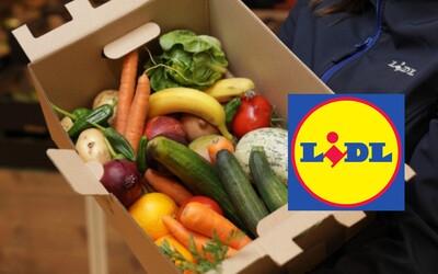 Britský Lidl začal prodávat pětikilové krabice nevzhledné zeleniny a ovoce. Jedna stojí 1,5 libry