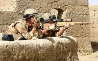 Britský sniper zabil 6 teroristů na vzdálenost 1,3 kilometru jediným projektilem