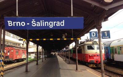 Brno-Šalingrad: Brňané rozhodli, jejich hlavní nádraží má nést tento název