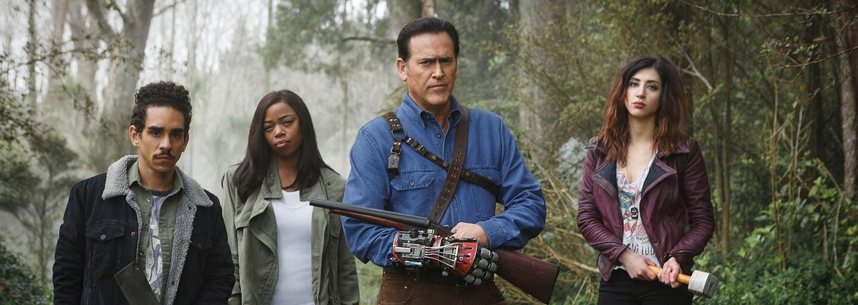 Bruce Campbell bude bojovat proti zlu i ve 3. sérii Ash vs Evil Dead