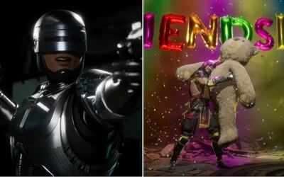 Brutálna bojovka Mortal Kombat 11 vyráža dych novým trailerom. Budeš môcť hrať za Robocopa a dostaneme aj rozšírenie príbehu