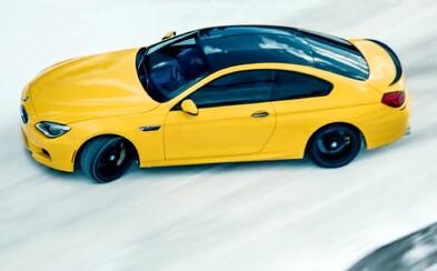 Brutálne 560-koňové BMW M6 si s ľahkosťou v reklame driftuje zamrznutou kanadskou krajinou
