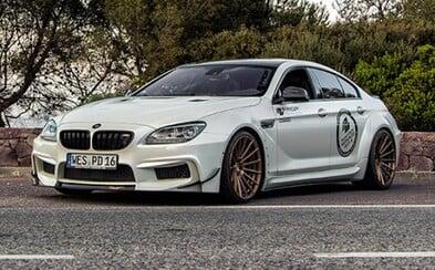 Brutálne BMW M6 Gran Coupe od Prior Design!