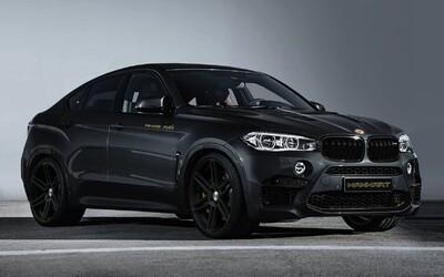 Brutální BMW X6 M jako strach nahánějící black on black se 700 koňmi od Manhartu