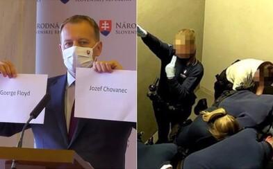 Brutálny zákrok belgickej polície proti Slovákovi prirovnáva Kollár k smrti Georga Floyda. Reagujú aj ďalší politici