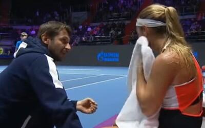 Buď rozhodná, ku*va! Dominika Cibulková si od svojho trénera vypočula trefný motivačný prejav, ktorý jej nakoniec na ceste do finále nepomohol