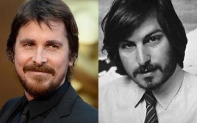 Bude hrať Steva Jobsa Christian Bale?