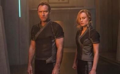 Bude Jude Law na strane Captain Marvel, alebo sa s nami Disney iba zahráva? V hre sú stále obe možnosti