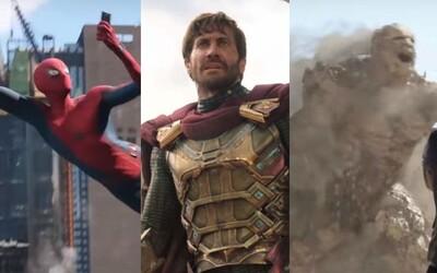 Bude Mysterio skutočne bojovať po boku Spider-Mana? A kto sú záhadní záporáci zo zeme a vody?