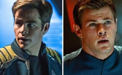 Bude sa Star Trek 4 musieť zaobísť bez Chrisa Pinea a Chrisa Hemswortha?