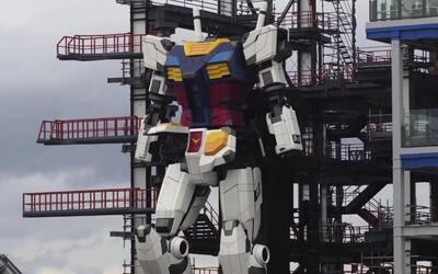 Budoucnost je tady: Sleduj první krok obrovského 18metrového robota