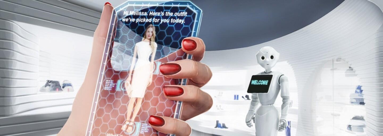 Budoucnost nakupování oblečení? Amazon si patentoval zrcadlo, které zobrazí člověka v jakémkoli outfitu