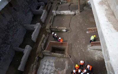Budovali tunel metra pod Římem, ale namísto toho našli rozlehlá kasárna starověké bojové jednotky