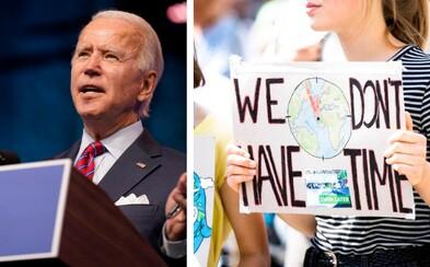 Budoucí americký prezident Joe Biden představil svůj tým na záchranu klimatu a vzkázal, že není prostor na ztrácení času