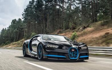 Bugatti Chiron má na kontě první světový rekord. Pilot F1 předvedl 0-400-0 km/h jen za 42 sekund