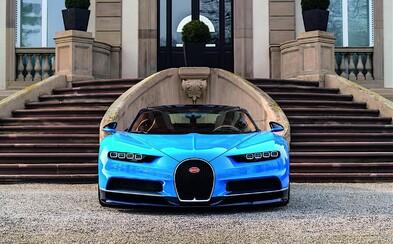 Bugatti Chiron oficiálně: Auto všech aut má 8litrovou W16, 1500 koní a maximálku 420 km/h!