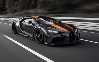 Bugatti Chiron zlomilo ďalší rekord. V Nemecku šprintovalo rýchlosťou 490 km/h