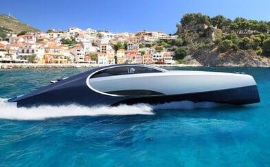 Bugatti postavilo superluxusnú jachtu inšpirovanú pekelným Chironom. Obsahuje vlastnú vírivku, ohnisko aj špeciálne drevo