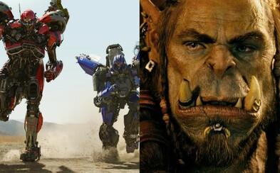 Bumblebee nám predstavuje dvojicu nových Decepticonov a režisér Warcraftu chystá komiksovú adaptáciu